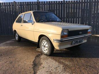 1979 FORD FIESTA 1.1 L 3d 49 BHP £4495.00