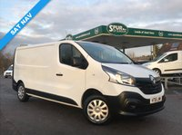 USED 2016 16 RENAULT TRAFIC 1.6 LL29 BUSINESS DCI S/R P/V 1d 115 BHP Long Wheel Base, SAT NAV, Bluetooth Phone Connectivity, One Owner.