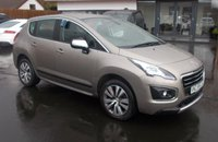 USED 2015 PEUGEOT 3008 1.6 BLUE HDI S/S ACTIVE 5d 120 BHP £20.00 PER YEAR ROAD TAX