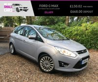 USED 2011 61 FORD C-MAX 2.0 TITANIUM TDCI 5d AUTO 138 BHP 2 OWNERS FULL FORD SERVICE HISTORY KEYLESS GO FACTORY BLUETOOTH