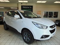 USED 2015 65 HYUNDAI IX35 1.7 S CRDI 5d 114 BHP WARRANTY UNTIL NOV 2020 + AIR CONDITIONING + FRONT AND REAR CUP HOLDERS + NOV 2020 MOT + RDS CD/RADIO + ALLOYS