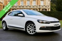 USED 2012 11 VOLKSWAGEN SCIROCCO 2.0 TDI BLUEMOTION TECHNOLOGY 2d 140 BHP COUPE