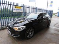 USED 2014 64 BMW 1 SERIES 2.0 116d Sport Sports Hatch (s/s) 5dr Low Miles