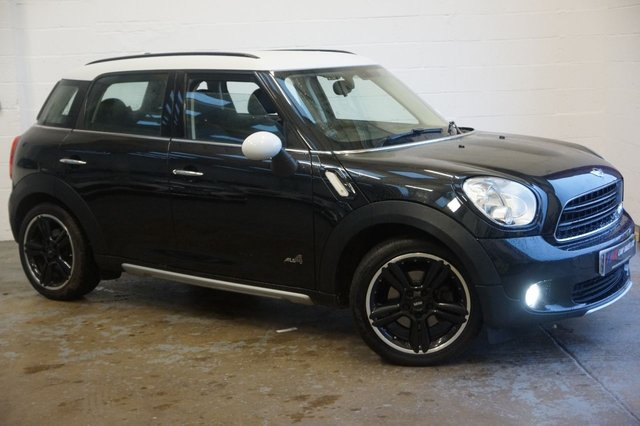 2015 65 MINI COUNTRYMAN 2.0 COOPER D ALL4 5d AUTO 110 BHP TOP SPEC FULL LEATHERS SOLD TO MISS MYRA FROM BARNSLEY