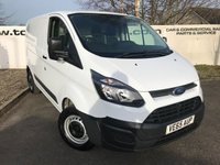 USED 2015 65 FORD TRANSIT CUSTOM 290 2.2 125 BHP L1 H1 **75 VANS TO CHOOSE FROM**
