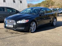 USED 2009 L JAGUAR XF 3.0 V6 PREMIUM LUXURY 4d AUTO 240 BHP NAVIGATION SYSTEM + LEATHER TRIM * REVERSING CAMERA * FRONT AND REAR PARKING AID * FULL YEAR MOT *