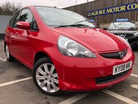 USED 2008 08 HONDA JAZZ 1.3 DSI SE 5d AUTO 82 BHP FULL MAIN DEALER SERVICE HISTORY + 1 PREVIOUS OWNER + LOW MILEAGE