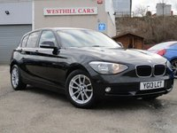 2013 BMW 1 SERIES 116d EfficientDynamics 5dr £8750.00