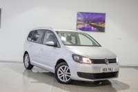 USED 2011 11 VOLKSWAGEN TOURAN 2.0 SE TDI BLUEMOTION TECHNOLOGY 5d 138 BHP February 2020 MOT & Just Been Serviced