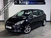 USED 2013 13 FORD C-MAX 1.6 TITANIUM X TDCI 5dr Leather, Pan Glass Roof, Park Pilot, Huge Spec, Lovely Example