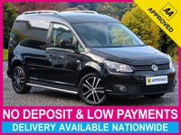 USED 2015 15 VOLKSWAGEN CADDY 1.6 TDI BLACK EDITION BLUEMOTION TECH C20 PANEL VAN BLACK EDITION ALLOYS SIDE BARS ROOF BARS AIR CON