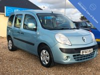 2010 RENAULT KANGOO 1.6 EXPRESSION 5d AUTOMATIC £SOLD