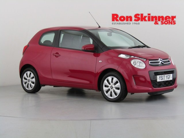 View our 2017 17 CITROEN C1 1.0 FEEL 3d 68 BHP
