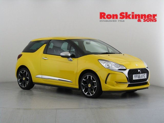 View our 2017 66 DS DS 3 1.2 PURETECH CHIC 3d 80 BHP