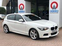 USED 2015 15 BMW 1 SERIES 1.6 116I M SPORT 5d 135 BHP 1 OWNER | SAT NAV | LEATHER |