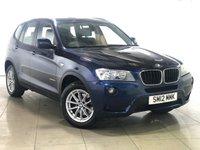 USED 2012 12 BMW X3 2.0 XDRIVE20D SE 5d AUTO 181 BHP 4350.00 BMW OPTIONAL EXTRAS