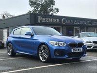 2018 BMW 1 SERIES 1.5 118I M SPORT 3d AUTO 134 BHP £17990.00