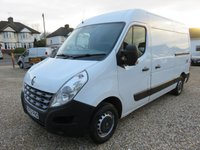 2012 RENAULT MASTER 2.3 MM33 SPORT DCI MED ROOF 125 BHP WITH TAIL LIFT 65802 MILES £8995.00