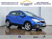 USED 2014 14 VAUXHALL MOKKA 1.7 EXCLUSIV CDTI S/S 5d 128 BHP Vauxhall History Bluetooth A/C Buy Now, Pay Later Finance!