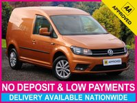 USED 2016 65 VOLKSWAGEN CADDY 2.0 TDI HIGHLINE C20 PANEL VAN 1 OWNER CRUISE CONTROL TOUCHSCREEN RADIO AIR CON