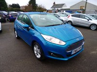 USED 2015 15 FORD FIESTA 1.25 ZETEC  THIS VEHICLE IS AT SITE 1 - TO VIEW CALL US ON 01903 892224