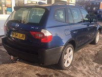 USED 2004 54 BMW X3 3.0 SPORT 5d AUTO 228 BHP