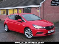 USED 2016 65 VAUXHALL ASTRA 1.6 CDTI ENERGY (£0 ROAD TAX) 5dr ONE OWNER WITH FULL VAUXHALL SERVICE HISTORY