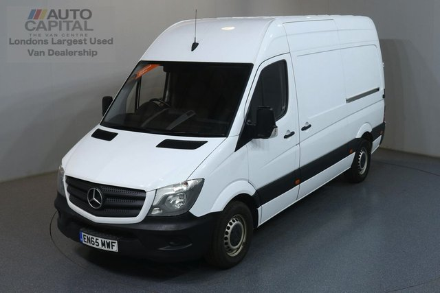 2015 65 MERCEDES-BENZ SPRINTER 2.1 313 CDI MWB 129 BHP  ONE OWNER, FULL SERVICE HISTORY, REVERSE CAMERA