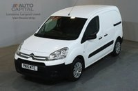 USED 2015 15 CITROEN BERLINGO 1.6 625 LX L1 HDI 90 BHP SWB PANEL MANUAL VAN ONE OWNER FULL S/H SPARE KEY