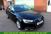 USED 2014 14 AUDI A3 2.0 TDI SE 5d 148 BHP +ONE OWNER +LOW TAX +SERVICED.