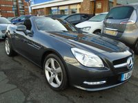 2014 MERCEDES-BENZ SLK 2.1 SLK250 CDI BLUEEFFICIENCY 2d AUTO 204 BHP £13394.00