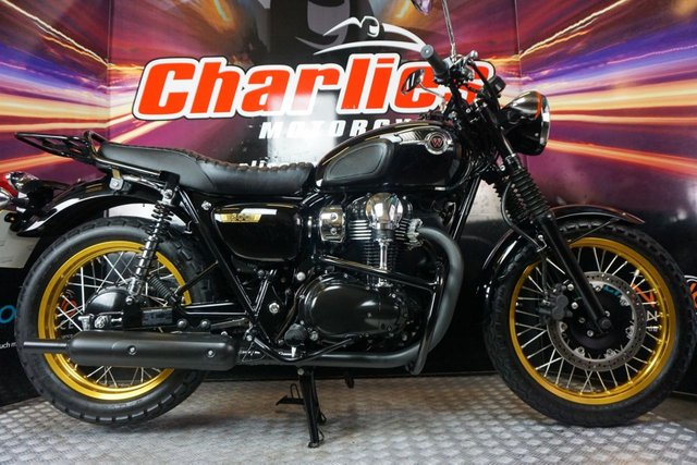 View our KAWASAKI W800