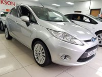 USED 2009 09 FORD FIESTA 1.4 TITANIUM TDCI 5d+SERVICE HISTORY