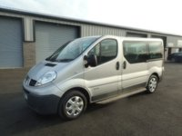 2012 RENAULT TRAFIC 2.0 SL27 DCI 5d 115 BHP 9 SEATER MINI BUS 1 OWNER NO VAT £4991.00