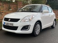 USED 2013 63 SUZUKI SWIFT 1.2 SZ2 5d 94 BHP 2 OWNERS, £30 ROAD TAX, 1YR MOT, FULL SUZUKI SERVICE HISTORY, EXCELLENT CONDITION, E/WINDOWS, R/LOCKING, FREE  WARRANTY, FINANCE AVAILABLE, HPI CLEAR, PART EXCHANGE WELCOME,