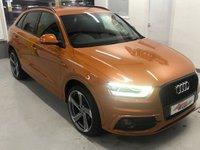 2014 AUDI Q3 2.0 TDI S LINE 5d 138 BHP £15250.00