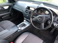 USED 2009 09 MERCEDES-BENZ C CLASS 1.6 C180 KOMPRESSOR BLUEEFFICIENCY AMG SPORT AUTO 156 BHP 4DR +HALF LEATHER+JUST SERVICED+
