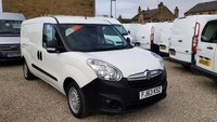 2013 VAUXHALL COMBO 2300 1.3CDTi 16v 90 BHP L2 H1  LWB VAN WITH TWIN SIDE LOAD DOORS £4995.00