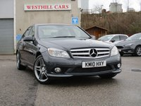 2010 MERCEDES-BENZ C CLASS 1.8 C250 CGI BLUEEFFICIENCY SPORT 4d 204 BHP £7950.00