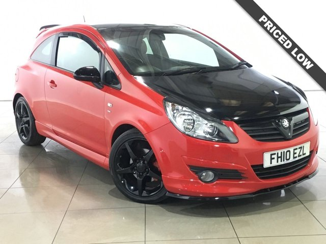 View our 2010 10 VAUXHALL CORSA 1.7 SRI CDTI 3d 128 BHP