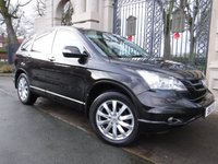USED 2011 11 HONDA CR-V 2.2 I-DTEC EX 5d 148 BHP *TWIN SUNROOFS*REAR TV`S*FULL LEATHER*SAT NAV*4X4*CRUISE CONTROL*