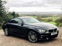 2018 BMW 4 SERIES 2.0 420I XDRIVE M SPORT 2d AUTO 181 BHP £25885.00