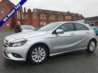 USED 2014 64 MERCEDES-BENZ A CLASS 1.5 A180 CDI ECO SE 5dr Free Road Tax FSH