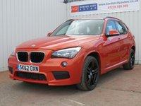 USED 2012 62 BMW X1 2.0 XDRIVE18D M SPORT 5d 141 BHP FULL SERVICE HISTORY