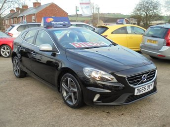 2015 VOLVO V40 2.0 D2 R-DESIGN 5d 118 BHP 1 OWNER *BLUETOOTH* HALF LEATHER* GREAT SPEC LIST* £11950.00
