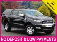 USED 2016 16 FORD RANGER 2.2 TDCI LIMITED DOUBLE CAB AUTO HARDTOP CANOPY HARDTOP CANOPY SATELLITE NAVIGATION HEATED LEATHER