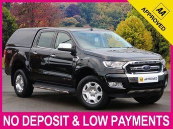2016 FORD RANGER 2.2 TDCI LIMITED DOUBLE CAB AUTO HARDTOP CANOPY £18450.00