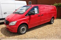 2014 MERCEDES-BENZ VITO 2.1 116 CDI  X-LONG 1d 163 BHP   £9495.00
