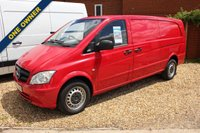 USED 2014 64 MERCEDES-BENZ VITO 2.1 116 CDI  X-LONG 1d 163 BHP