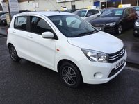 USED 2016 16 SUZUKI CELERIO 1.0 SZ4 5d AUTO 67 BHP OUR  PRICE INCLUDES A 6 MONTH AA WARRANTY DEALER CARE EXTENDED GUARANTEE, 1 YEARS MOT AND A OIL & FILTERS SERVICE.     6 MONTHS FREE BREAKDOWN COVER.     CALL US NOW FOR MORE INFORMATION OR TO BOOK A TEST DRIVE ON 01315387070 !! !!  LIKE AND SHARE OUR FACEBOOK PAGE !!